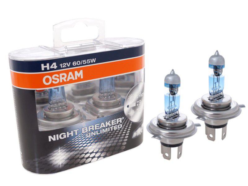 osram h4 12v 55w night breaker unlimited 64193nbu box. Black Bedroom Furniture Sets. Home Design Ideas