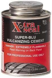 Vulkanizační cement 235 ml - Xtra Seal - modrý 14-511