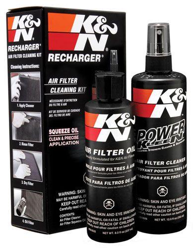 Čistící a impregnační sada filtru KN K&N FILTERS