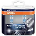 OSRAM H7 12V 55W Night breaker UNLIMITED (sada- 2ks)