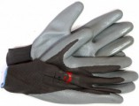 Pracovní rukavice vel. 10 povrstvené šedá