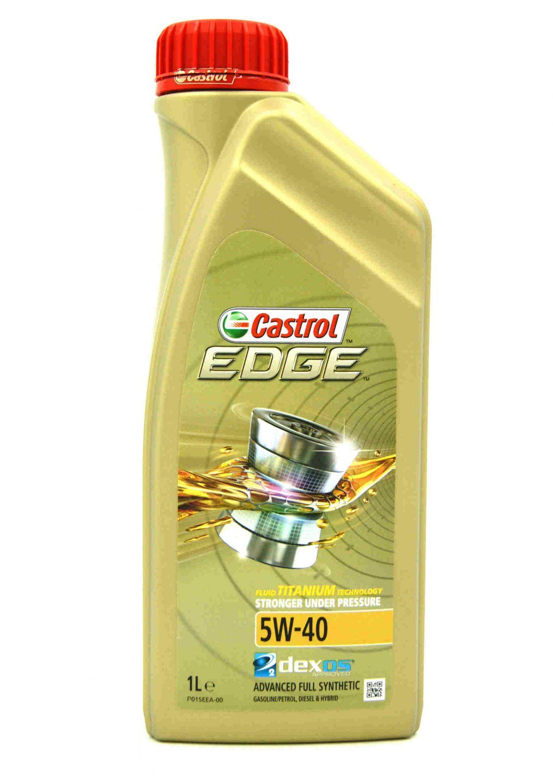 CASTROL EDGE 5W-40 TITANIUM FST 1L