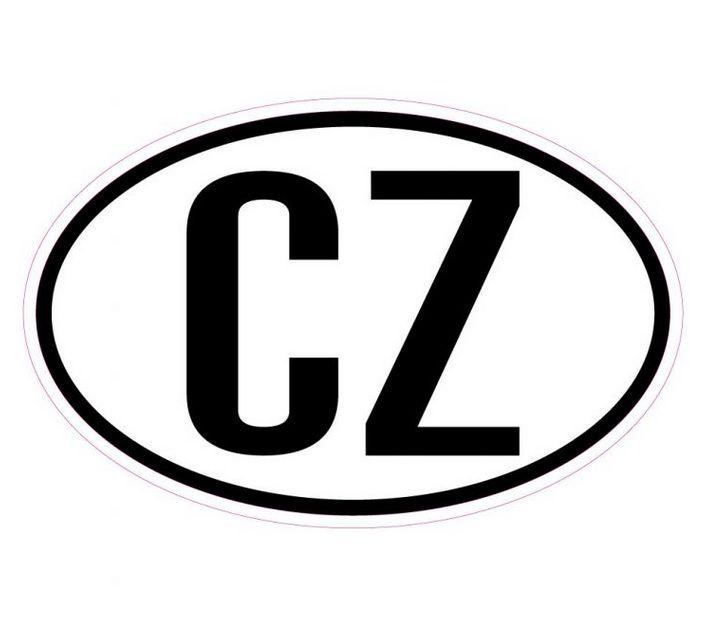 CZ - Samolepka