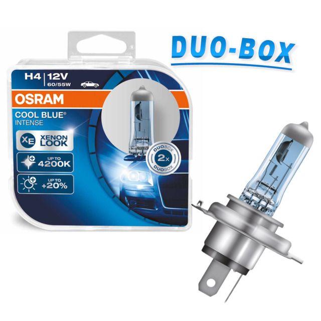OSRAM H4 12V Cool blue intense DuoBox - 64193CBI (sada- 2ks)