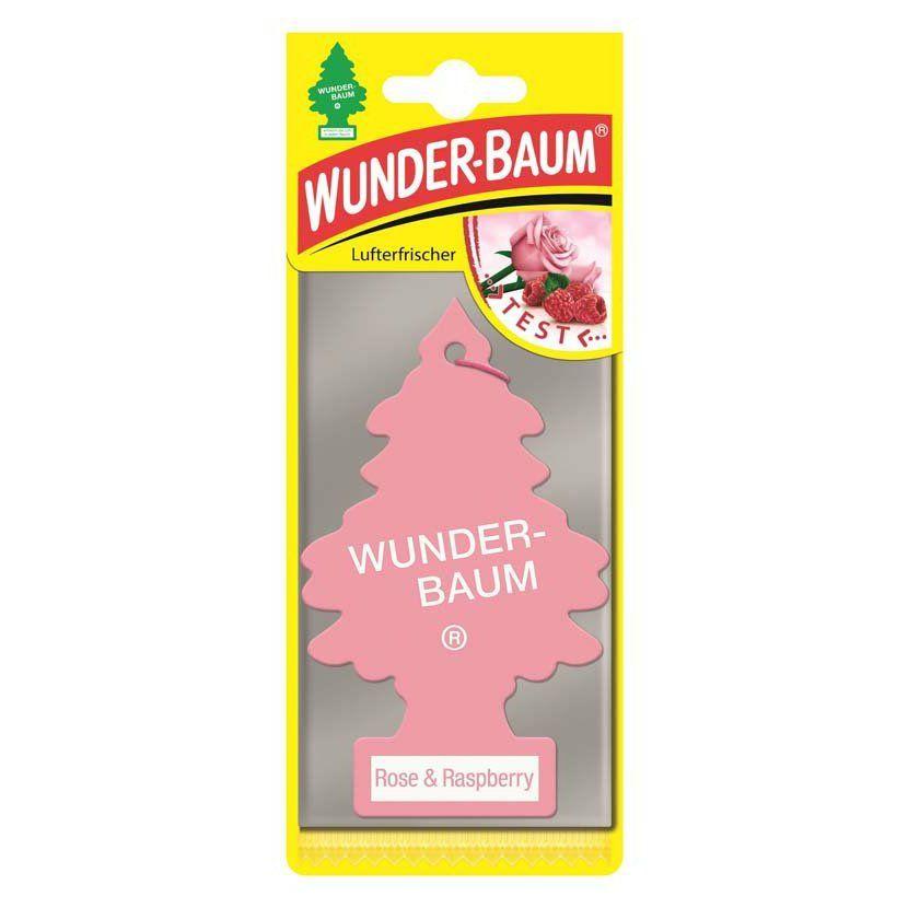 Osvěžovač vzduchu - WUNDER-BAUM Rose a Raspberry