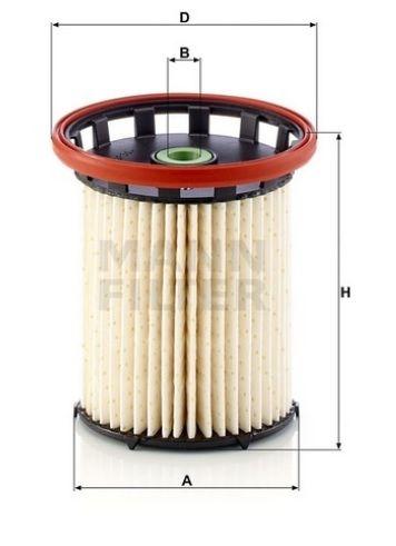 Palivoý filtr MANN PU8021 Mann-Filter