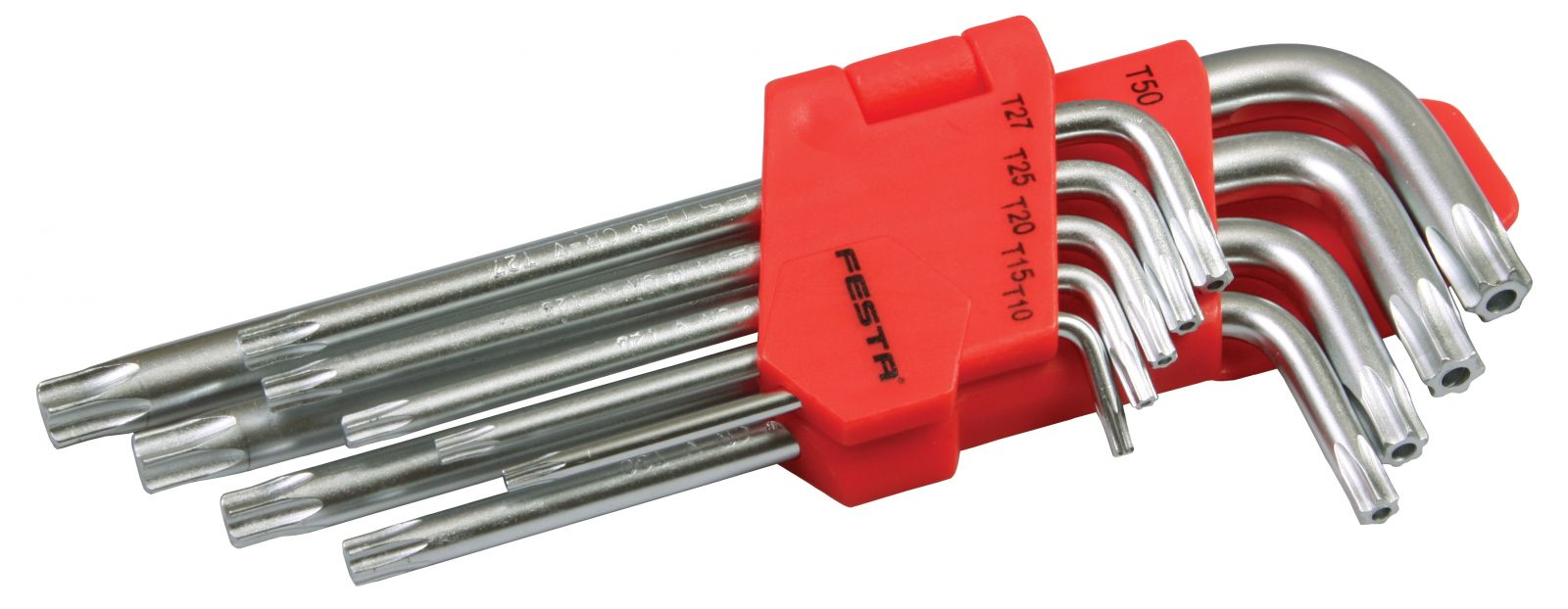 Sada torx T10-T50 9ks long FESTA