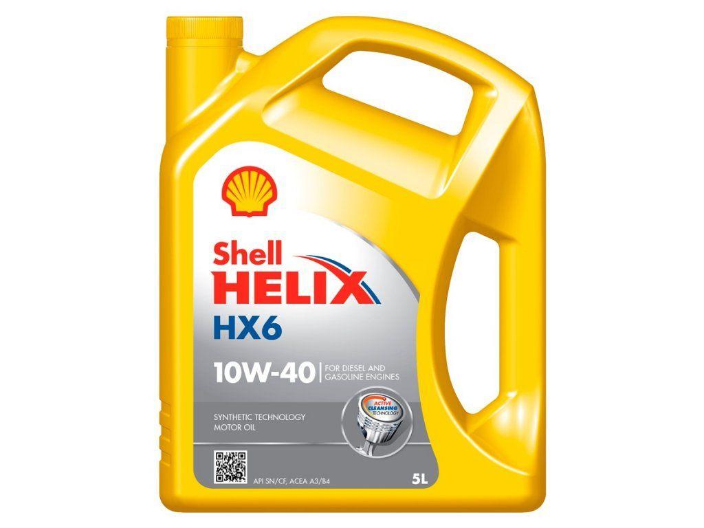 SHELL HELIX HX6 10W-40 5L (5x1L)