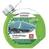 Sonax Letní náplň do ostřikovačů koncentrát 1:4 (3 litry) Green Lemon