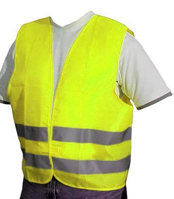 Vesta reflexní žlutá XXL splňující normu EN ISO 20471:2013