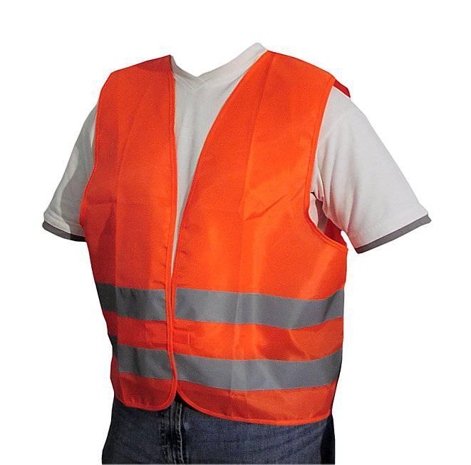 Vesta reflexní oranžová XL ( MINIMÁLNÍ MNOŽSTVÍ = 200 ks) splňující normu EN ISO 20471:2013