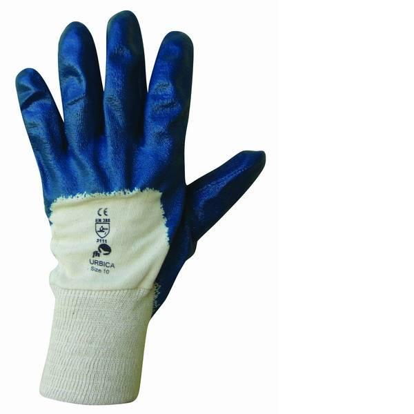 Pracovní rukavice URBICA - vel. 10 Máčené Červa