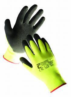 Pracovní rukavice PALAWAN - vel. 9 Povrstvené nylon-latex ČERVA