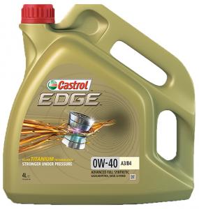 CASTROL EDGE TITANIUM FST A3/B4  0W-40 4L