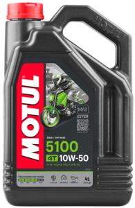 MOTUL 5100 Ester 4T 10W-50 4L