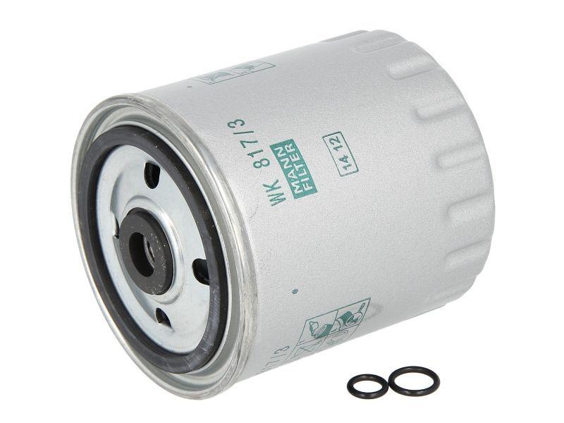 Palivový filtr MANN WK817/3X Mann Filter