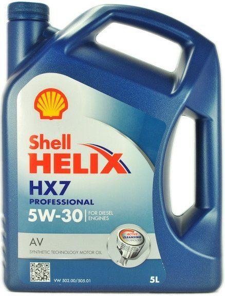 Shell Helix HX7 Professional AV 5W-30 5l