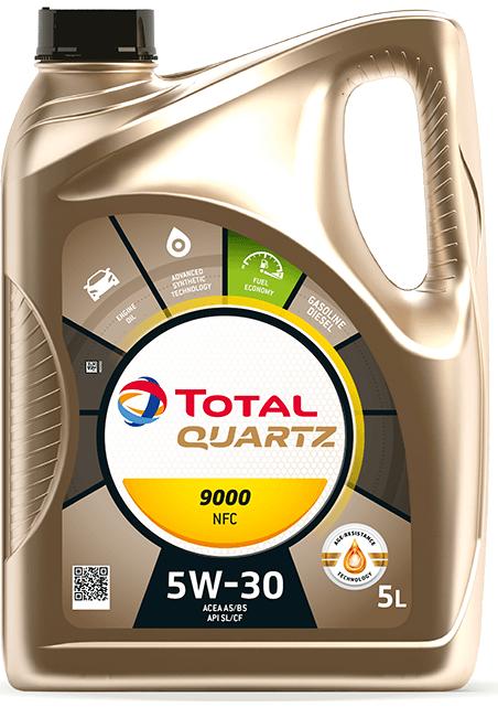 TOTAL QUARTZ FUTURE NFC 9000 5W-30 5 L